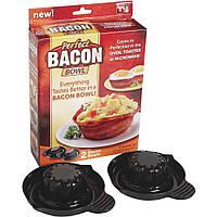 Набор форм для выпечки Perfect Bacon Bowl (съедобная тарелка из бекона)