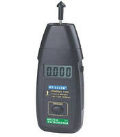 Тахометр контактный Walcom DT-2235B (от 5 до 19 999 об/мин) (MK418)