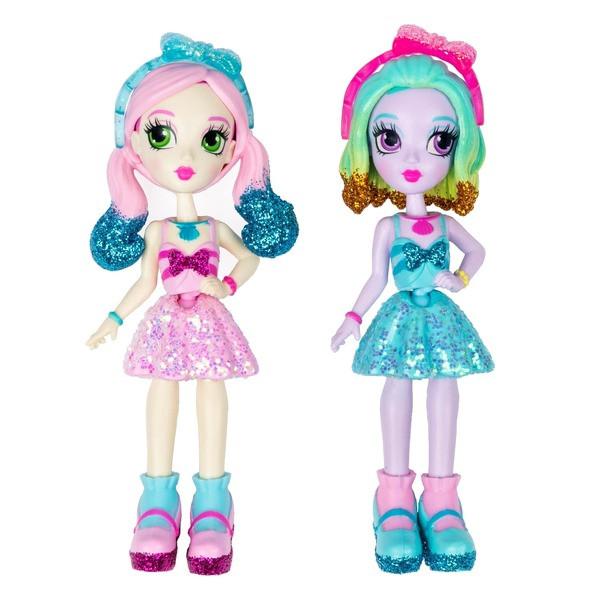 """Spin Master Off the Hook:набор из двух стильных кукол """"Весеннее диско"""" Ная и Дженни"""