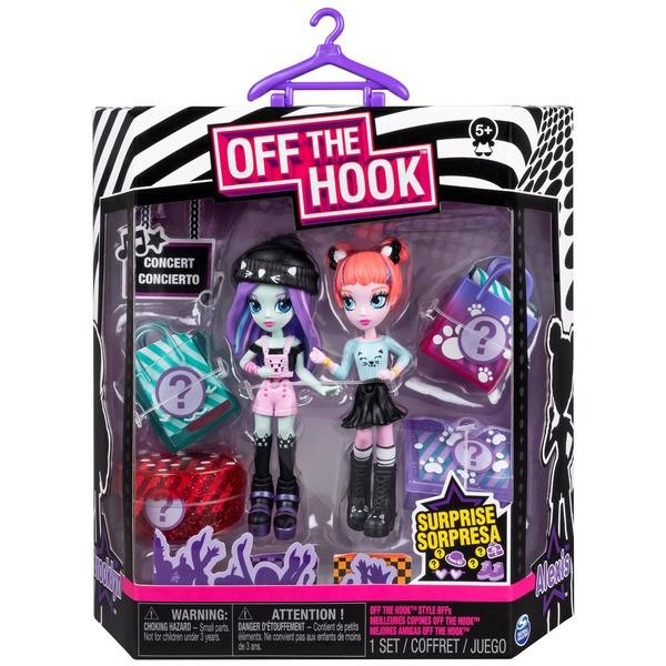 """Spin Master Off the Hook:набор из двух стильных кукол """"Коктейльная вечеринка"""" Алексис и Бруклин"""