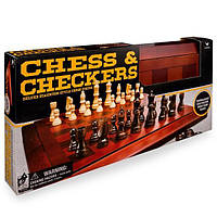 """Spin Master Набор из двух настольных игр """"Шахматы и шашки"""", фото 1"""