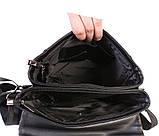 Сумка мужская под А4 E30901 Черная, фото 8