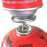 Газовый адаптер переходник  для заправки резьбового баллона от цангового, фото 6