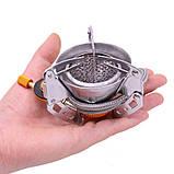 Портативная газовая горелка ветрозащитная hobbylane zyzy-75, фото 2