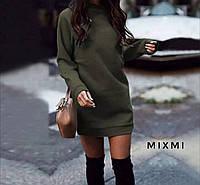 Женское утепленное платья 42/44, фото 1
