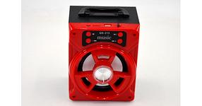 Колонка с Bluetooth QS-315 портативная аккустическая система USB/TF, фото 2