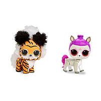 Оригинал кукла LOL Surprise Winter Disco Fluffy Pets - Мой Пушистый Любимец Питомец 559719, фото 4