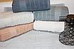 Метровые турецкие полотенца Однотонная полоска, фото 3