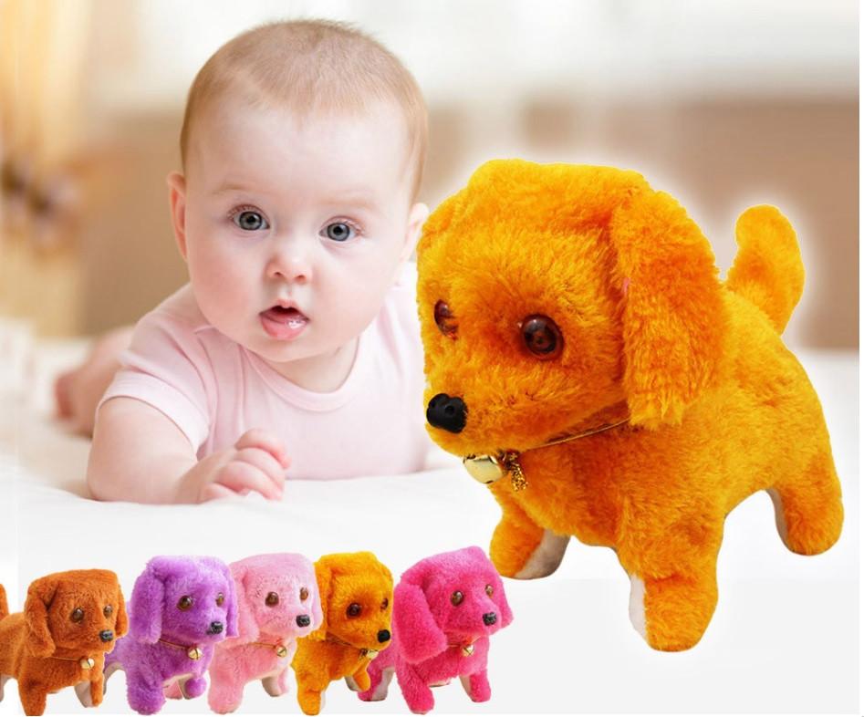 Детская интерактивная игрушка Собачкана батарейках