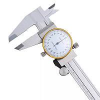Штангенциркуль ШЦК-150-0,01 стрелочный Shock-ProoF (MK602)
