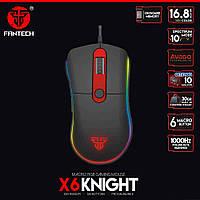 Игровая мышь Fantech x6 Knight 4000DPI макросы, подсветка, профили, фото 1