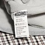 Брендовая женская вязаная шапка Moschino bugs bunny серая теплая зимняя модная унисекс бакс банни реплика, фото 5
