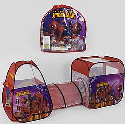 Намет дитячий з тунелем Bambi Spider-Men 8015SP