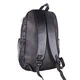 Удобный мужской рюкзак городских прогулок GO1-0931 Черный, фото 3