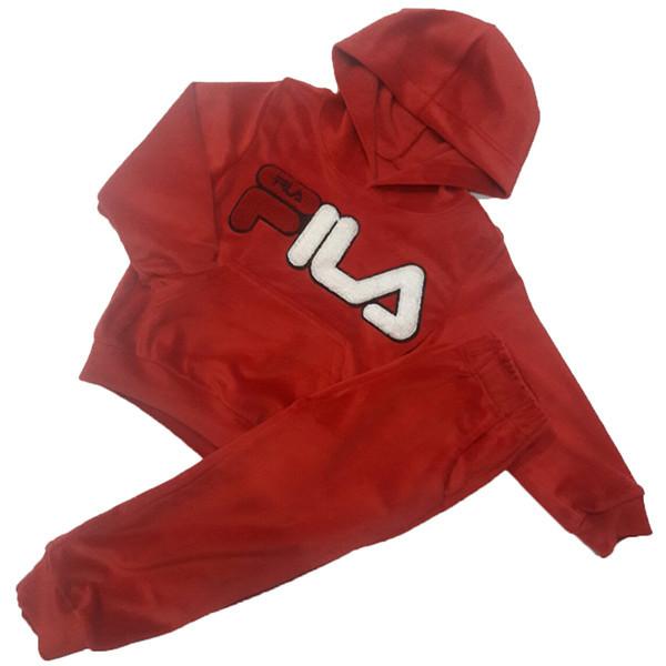 Детский велюровый костюм на флисе, р-р 92-116 см (5 ед в уп)