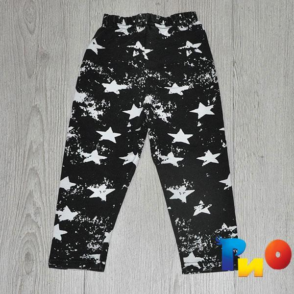 Детские штаны ,трикотаж, для девочек возраст 5-8 лет (4 ед в уп)
