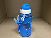 Бутылка для воды с силиконовой поилкой APPLE 520 мл., фото 1
