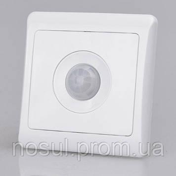 Датчик движения для управления освещением в корпусе выключателя 220В