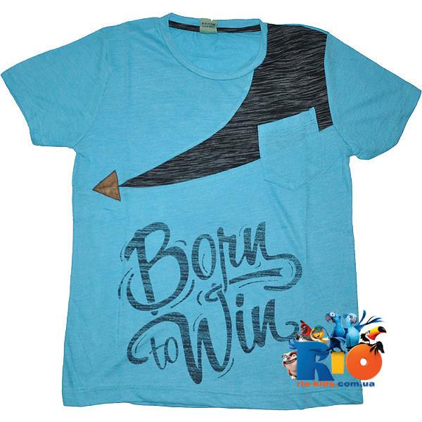 "Трикотажная футболка ""Winner""  , для мальчика 5-6;7-8;9-10;11-12 лет"