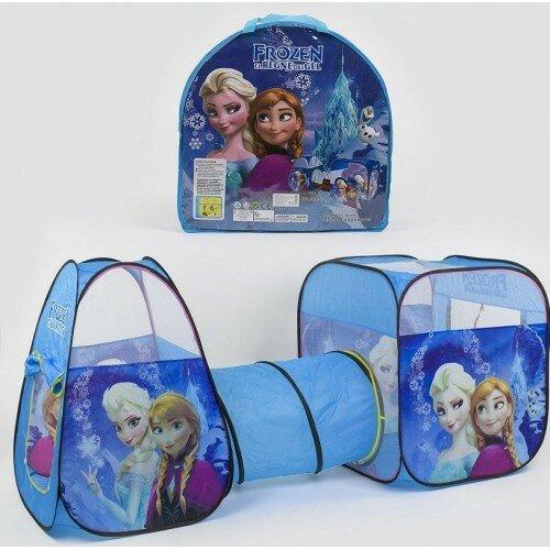 Палатка детская с туннелем Bambi Frozen