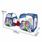 Палатка детская с туннелем Bambi Frozen, фото 3