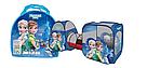 Палатка детская с туннелем Bambi Frozen, фото 2
