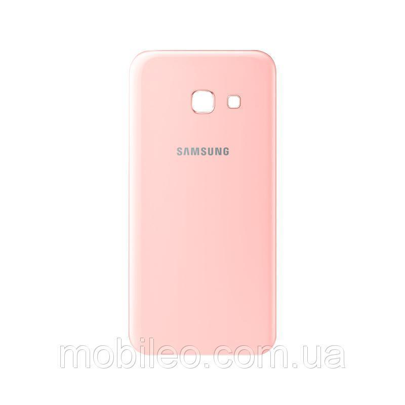 Задняя крышка Samsung A520 Galaxy A5 (2017) | A520F | A520FU | A520H розовая оригинал