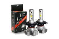 Светодиодные LED автолампы для фар автомобиля S9 H7