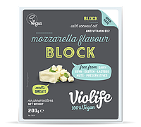 Растительная моцарелла веган VioLife  Mozarella блок 400 gr