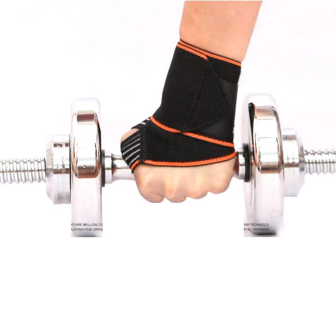 Компрессионный эластичный бинт повязка на запястье бандаж для занятий в тренажерном зале 1 шт