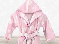 Халат детский Cloud розовый 3-4 года Irya