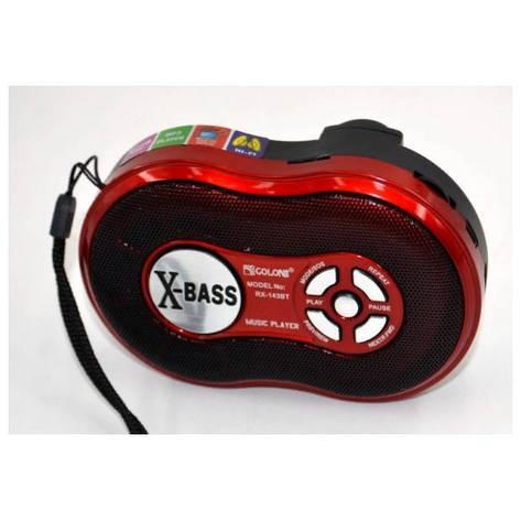 Радиоприемник RX-143BT c USB/SD и Bluetooth функцией и аккумулятором, фото 2