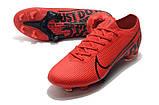Бутсы Nike Mercurial Vapor XIII Elite FG red/balck, фото 2