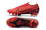 Бутсы Nike Mercurial Vapor XIII Elite FG red/balck, фото 6