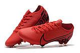 Бутсы Nike Mercurial Vapor XIII Elite FG red/balck, фото 5