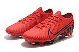 Бутсы Nike Mercurial Vapor XIII Elite FG red/balck, фото 3