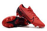 Бутсы Nike Mercurial Vapor XIII Elite FG red/balck, фото 7