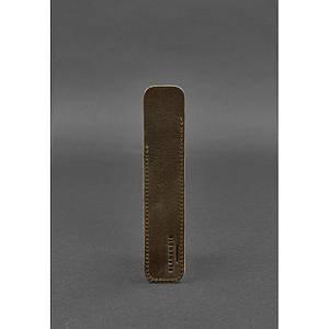 Кожаный чехол для ручки 2.0 Темно-коричневый