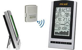 Метеостанция MISOL WH 1150 (измерения влажности, температуры, давления, точки росы и прогноз погоды) (MK769)