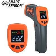 Пирометр инфракрасный с лазерным указателем Smart Sensor AT380+ ( -50... +380℃; 12:1 ) (MK838)