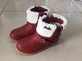 Зимові сапоги для дівчинки. Розмір 21 — 31