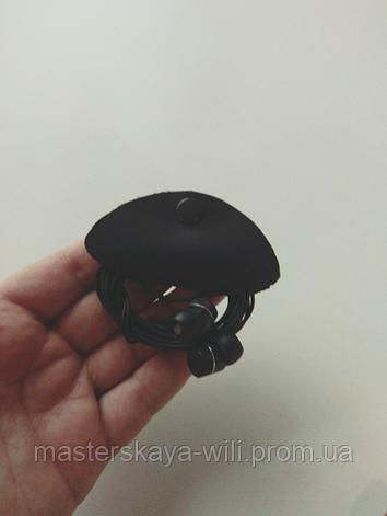 Холдер для наушников ручной работы (натуральная кожа), фото 2