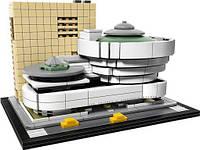 Конструктор Лего Архитектура — Музей Соломона Гуггенхейма от 12 лет 744 шт деталей