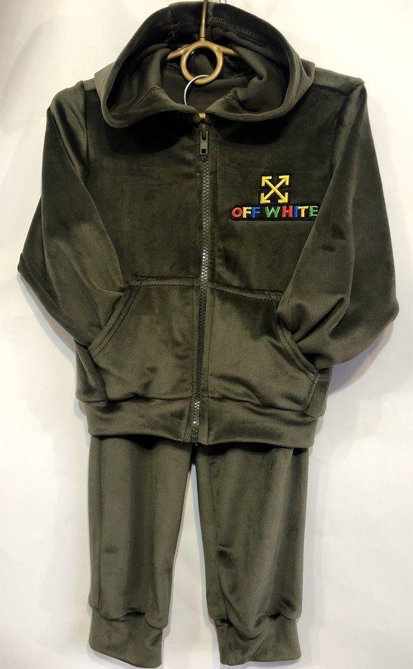Детский костюм 92-116 с эмблемой на молнии  2302351