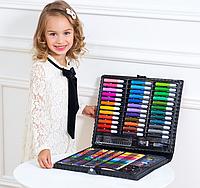 Набор для рисования детский Юный художник 150 предметов. Уценка.
