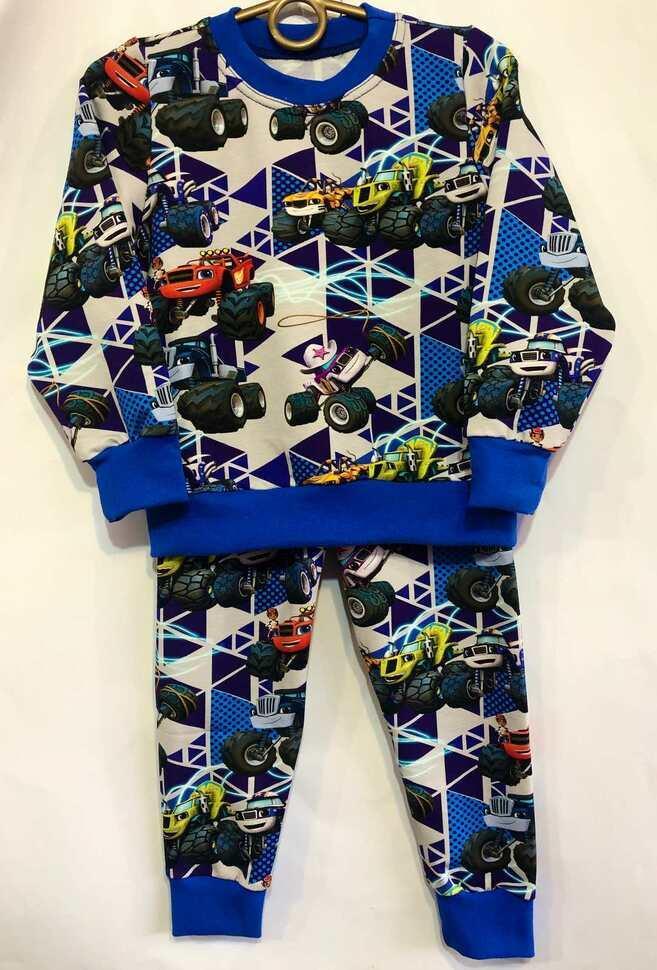 Детская пижама  92-116 Машина  175011
