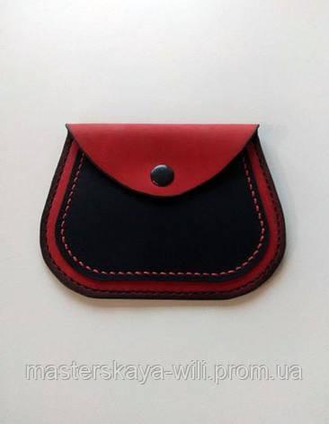 """Женский тонкий кошелек """"Woman pocket"""" (ручная работа, натуральная кожа), фото 2"""
