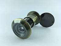 Дверной глазок KOZAK Ф25*(65-90)mm AB (цвет бронза)