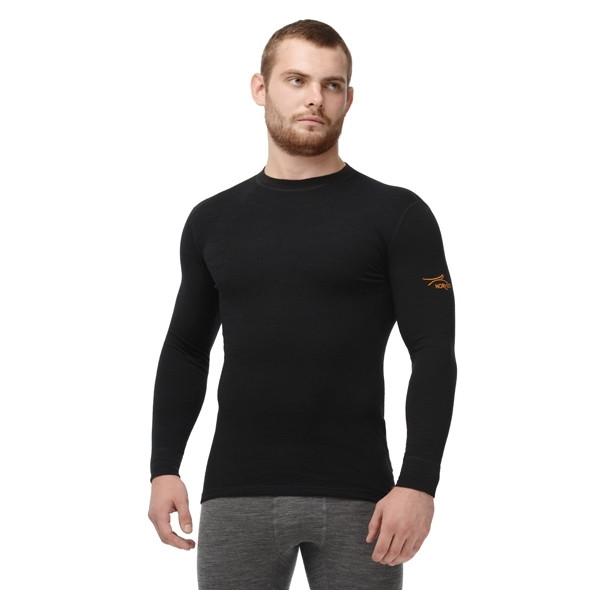 Термофутболка мужская с длинным рукавом Norveg Classic Черный L