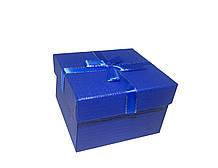 "Коробочка подарочная для часов ""Shine"" синяя"